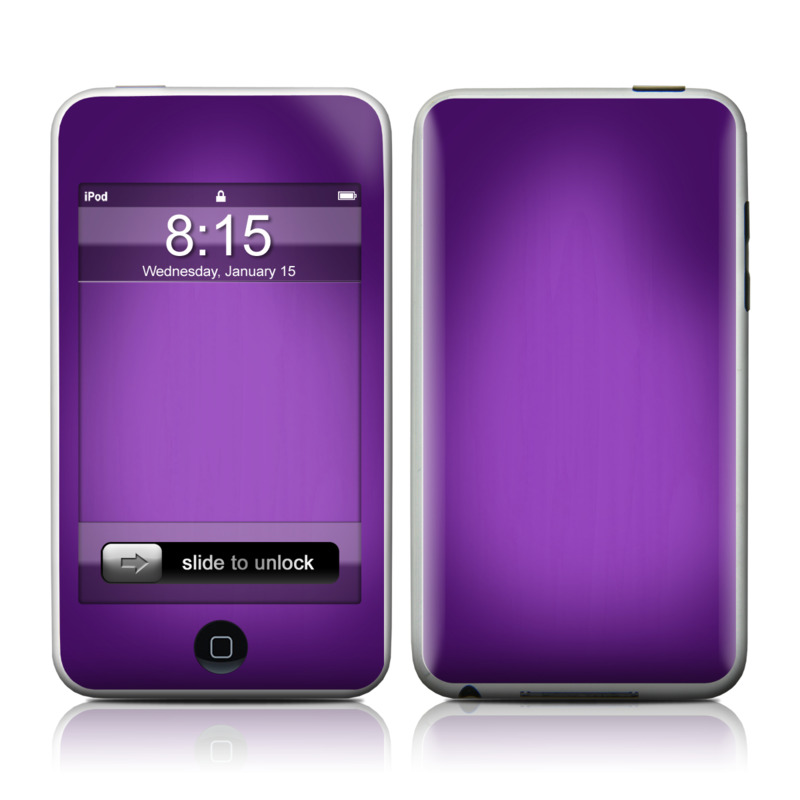 Purple Burst iPod touch Skin