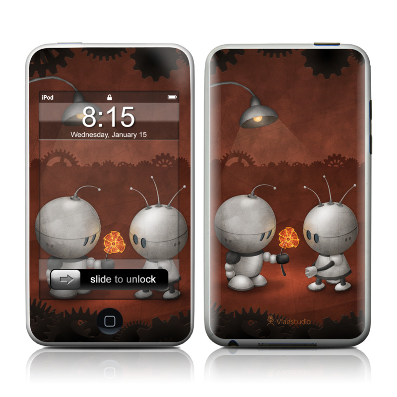 Robots In Love iPod touch Skin