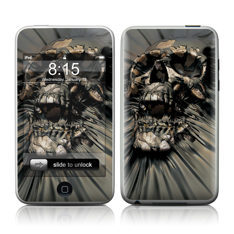 Skull Wrap iPod touch Skin