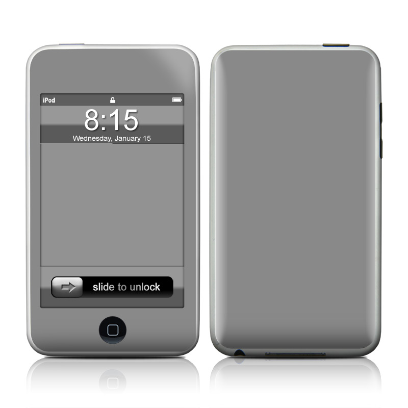 Solid State Gray iPod touch Skin