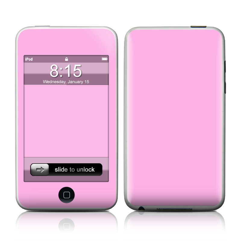 Solid State Pink iPod touch Skin