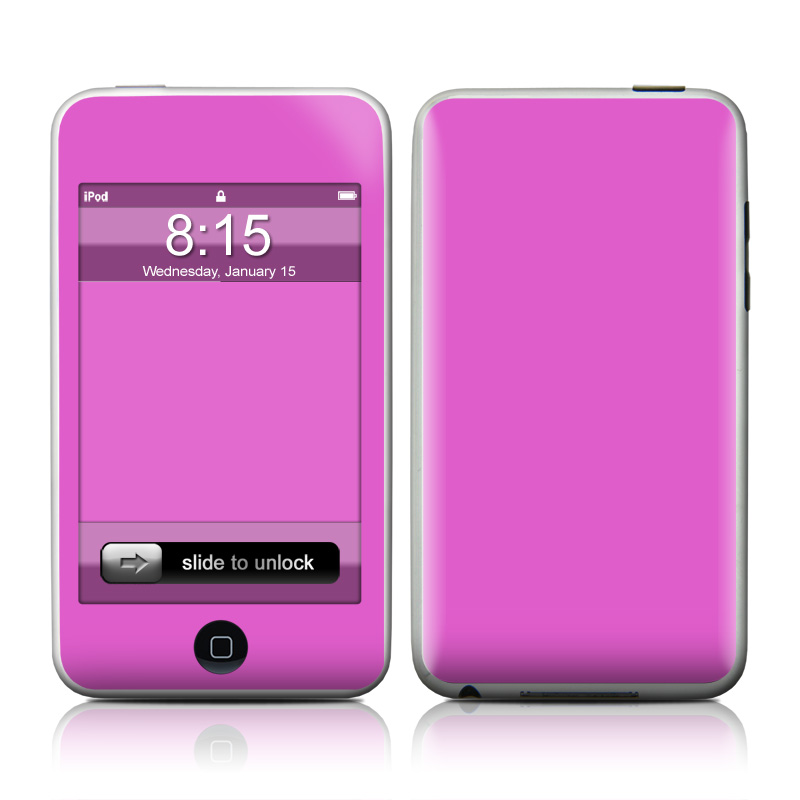 Solid State Vibrant Pink iPod touch Skin