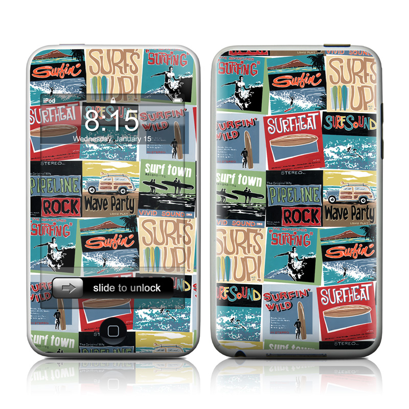 Surf Sounds iPod touch Skin