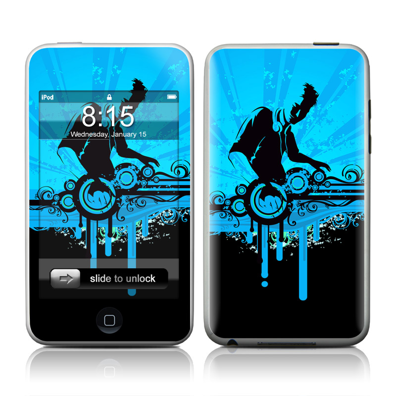 The DJ iPod touch Skin