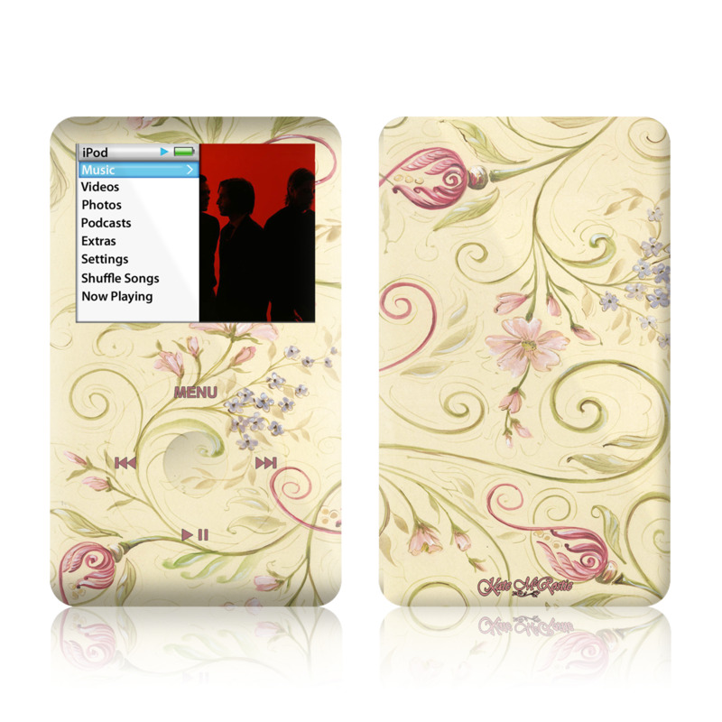 Tulip Scroll iPod touch Skin