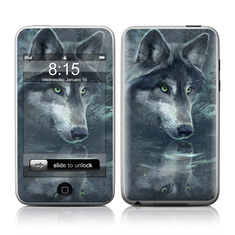 Wolf Reflection iPod touch Skin