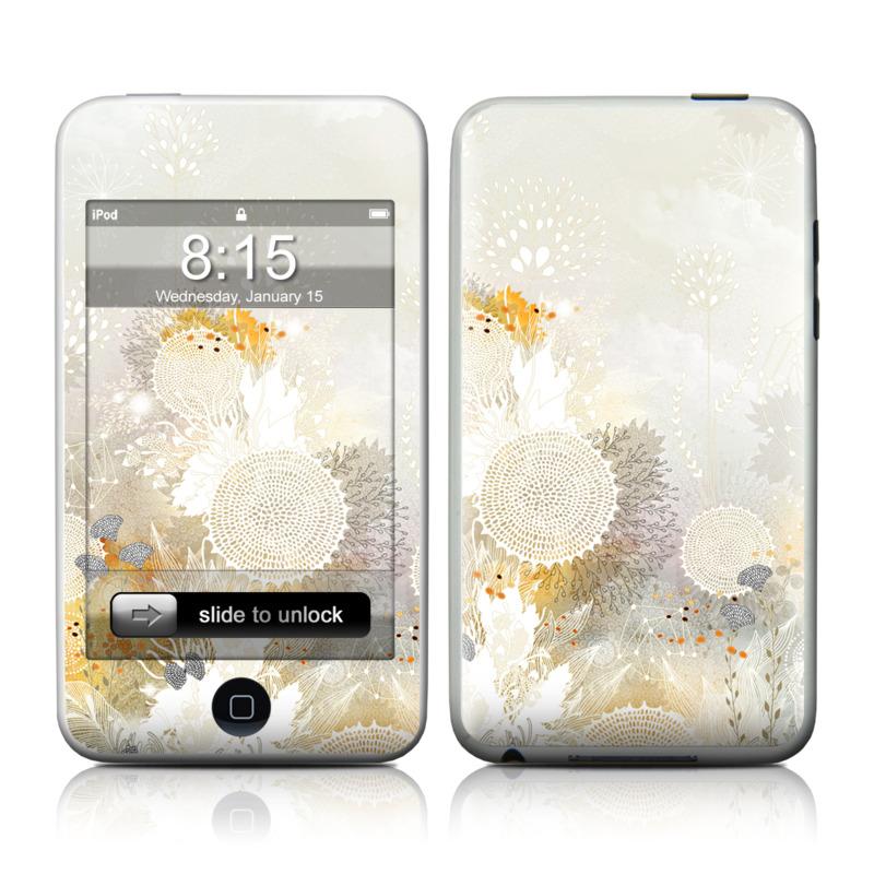 White Velvet iPod touch Skin
