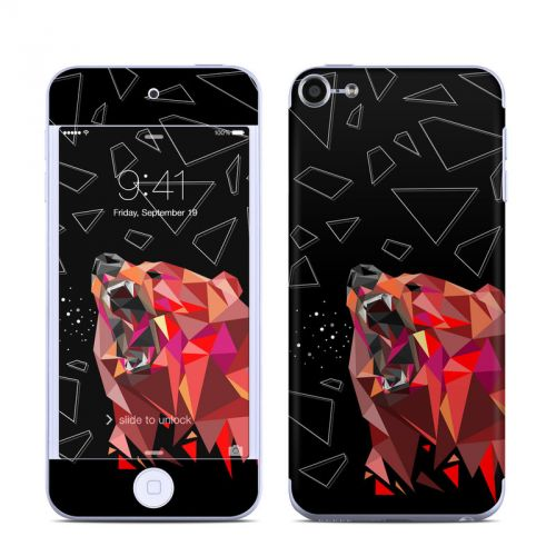 Bears Hate Math iPod touch 6th Gen Skin