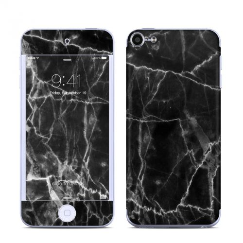 Black Marble iPod touch 6th Gen Skin