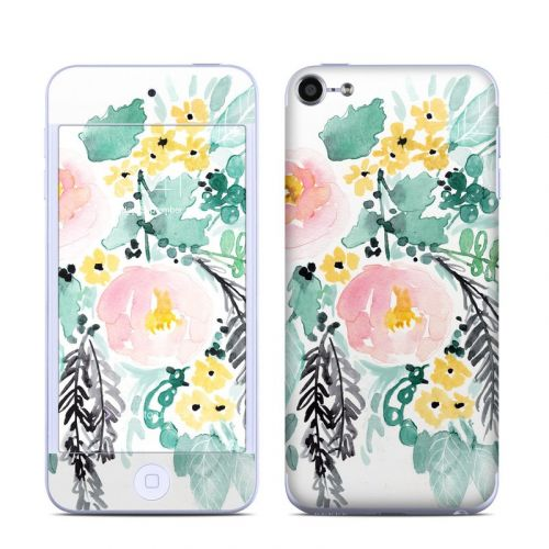 Blushed Flowers iPod touch 6th Gen Skin