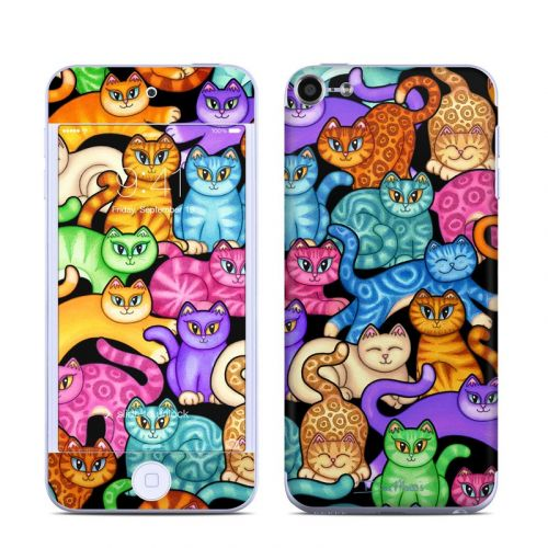 Colorful Kittens iPod touch 6th Gen Skin