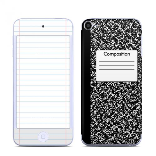 Composition Notebook iPod touch 6th Gen Skin