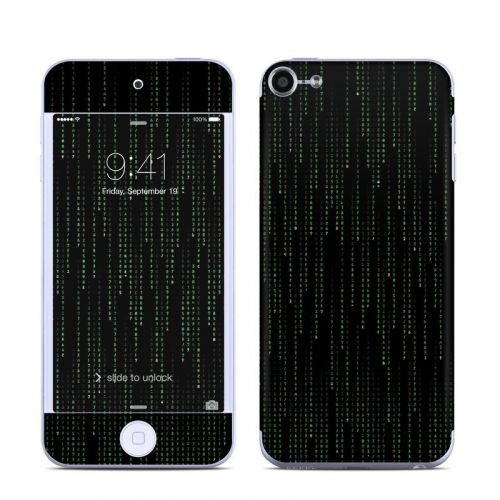 Matrix Style Code iPod touch 6th Gen Skin
