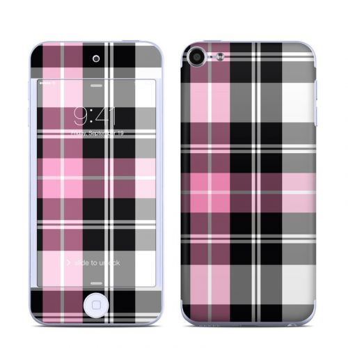 Pink Plaid iPod touch 6th Gen Skin