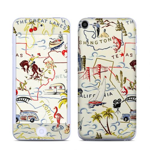 Road Trip iPod touch 6th Gen Skin