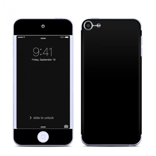 Solid State Black iPod touch 6th Gen Skin