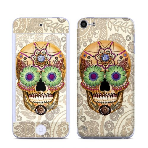Sugar Skull Bone iPod touch 6th Gen Skin