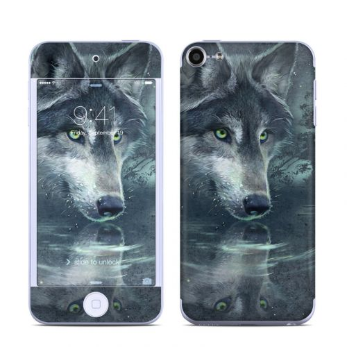 Wolf Reflection iPod touch 6th Gen Skin