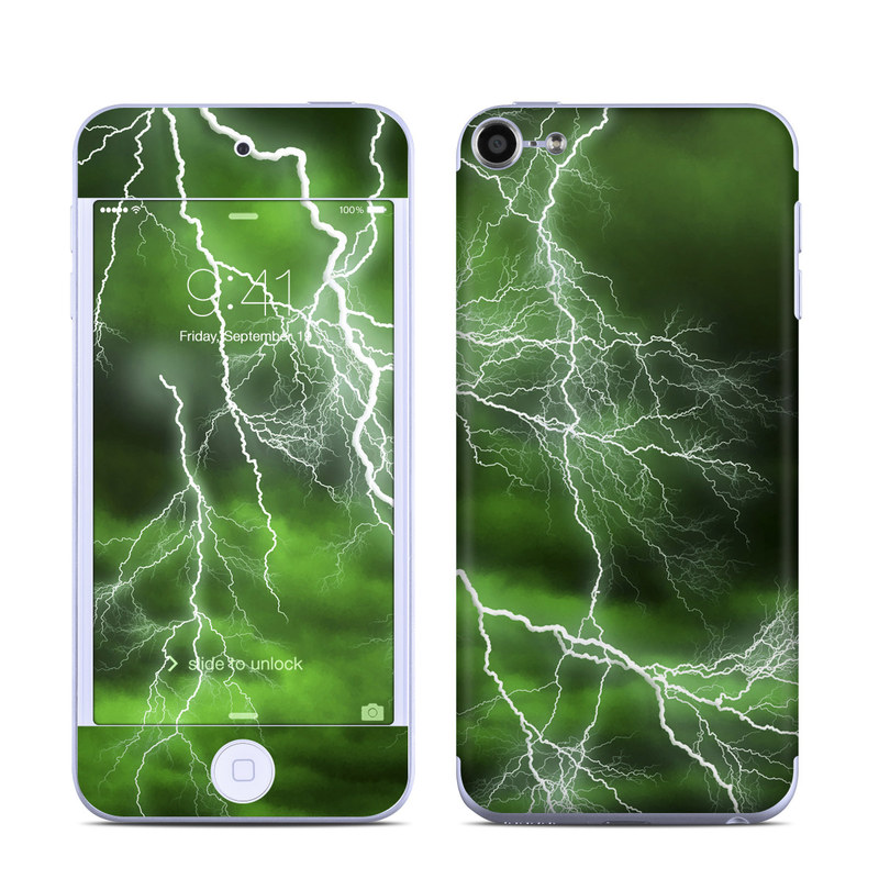Apocalypse Green iPod touch 6th Gen Skin