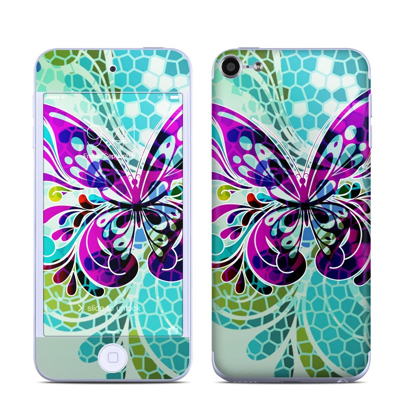 Butterfly Glass iPod touch 6th Gen Skin