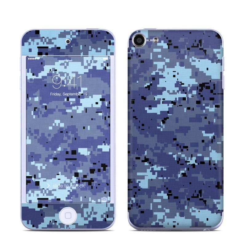Digital Sky Camo iPod touch 6th Gen Skin