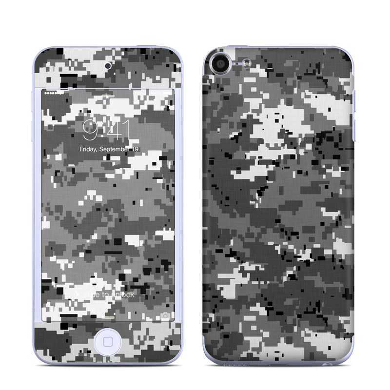 Digital Urban Camo iPod touch 6th Gen Skin