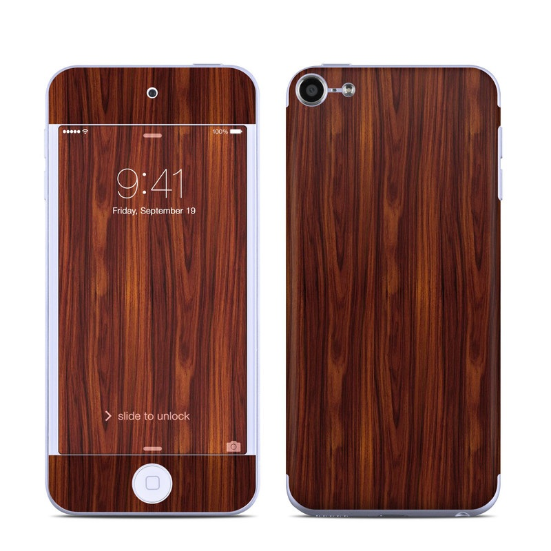 Dark Rosewood iPod touch 6th Gen Skin