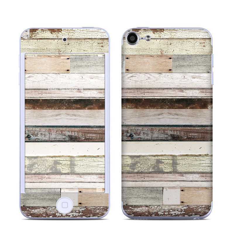 Eclectic Wood iPod touch 6th Gen Skin
