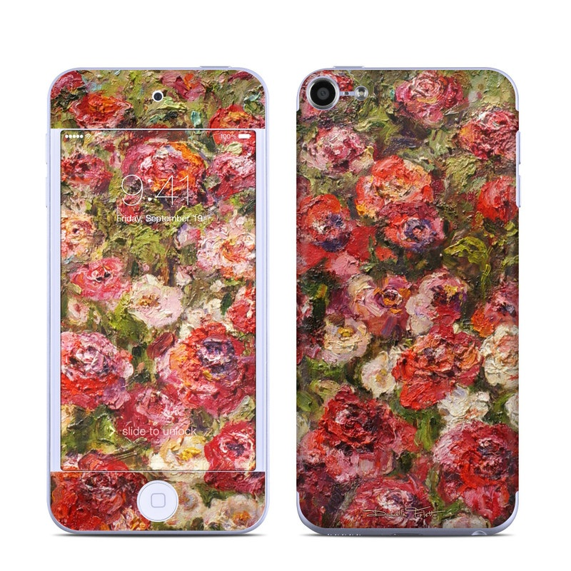 Fleurs Sauvages iPod touch 6th Gen Skin