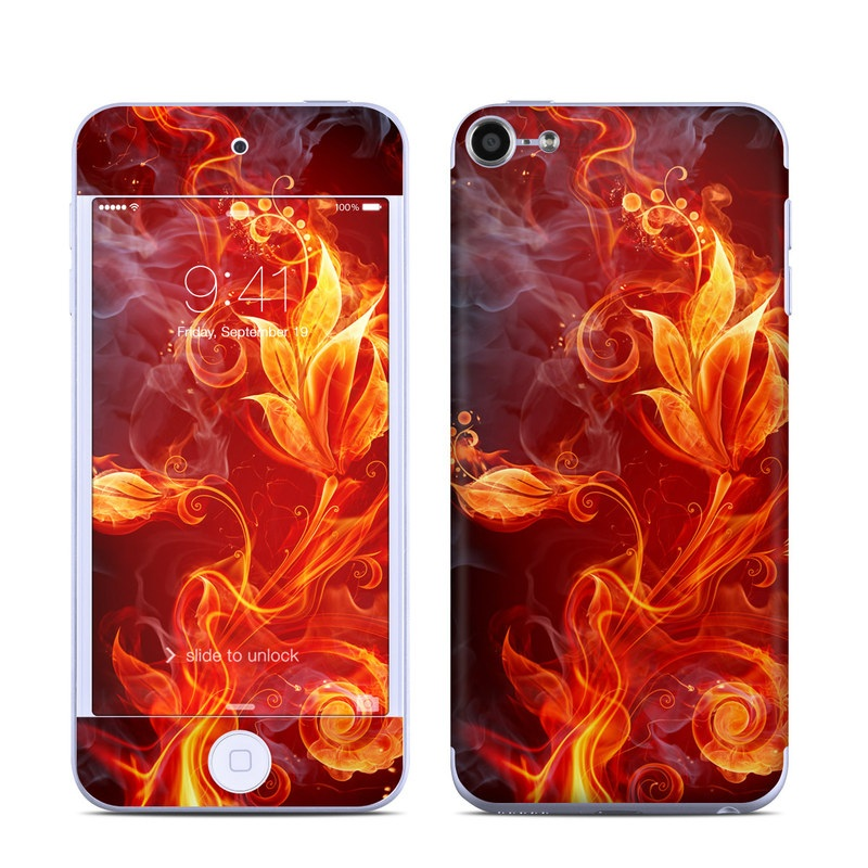 Flower Of Fire iPod touch 6th Gen Skin