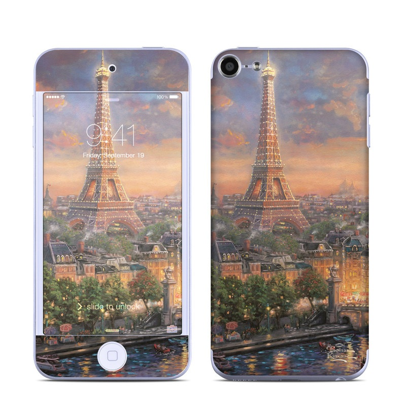Paris City of Love iPod touch 6th Gen Skin