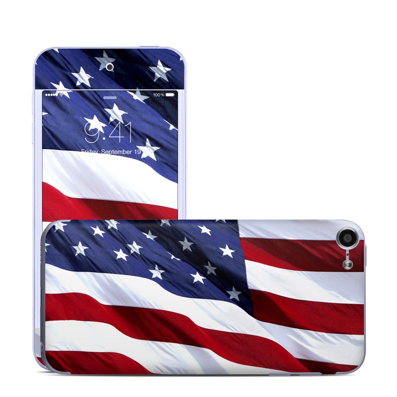Patriotic iPod touch 6th Gen Skin