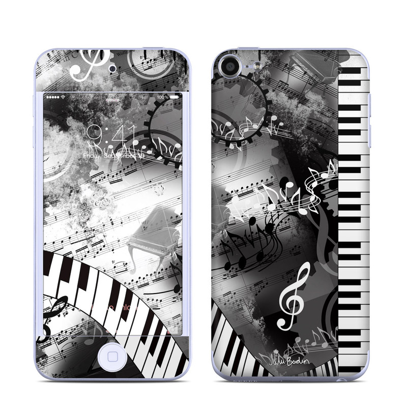 Piano Pizazz iPod touch 6th Gen Skin