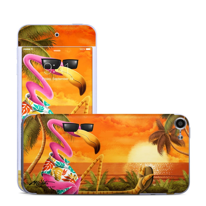 Sunset Flamingo iPod touch 6th Gen Skin