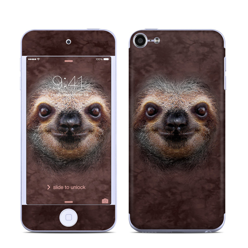 Sloth iPod touch 6th Gen Skin
