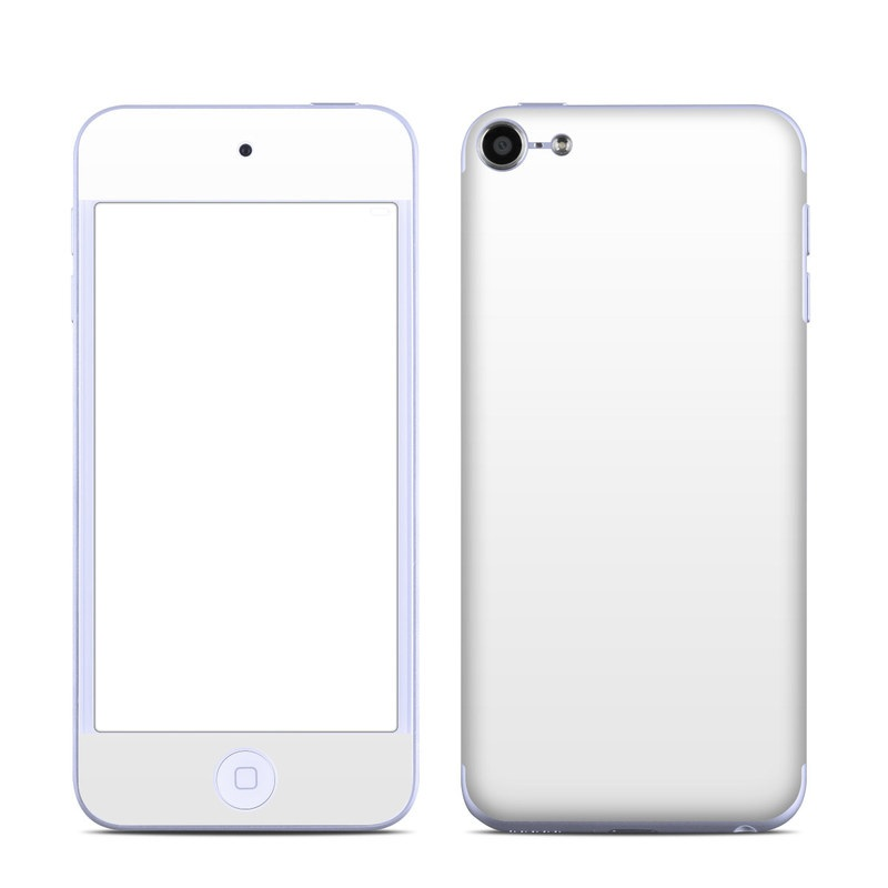 Solid State White iPod touch 6th Gen Skin
