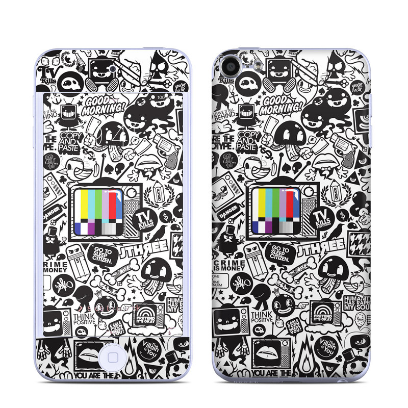 TV Kills Everything iPod touch 6th Gen Skin