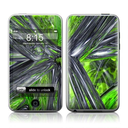 Emerald Abstract iPod touch 2nd Gen or 3rd Gen Skin
