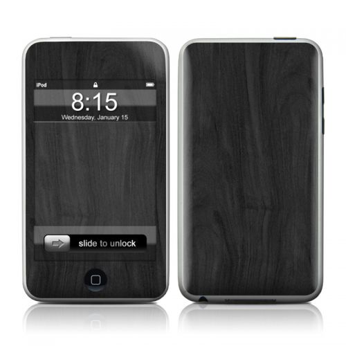 Black Woodgrain iPod touch 2nd Gen or 3rd Gen Skin
