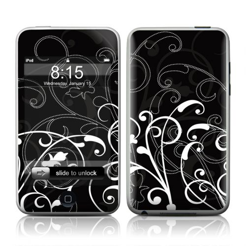 B&W Fleur iPod touch 2nd Gen or 3rd Gen Skin