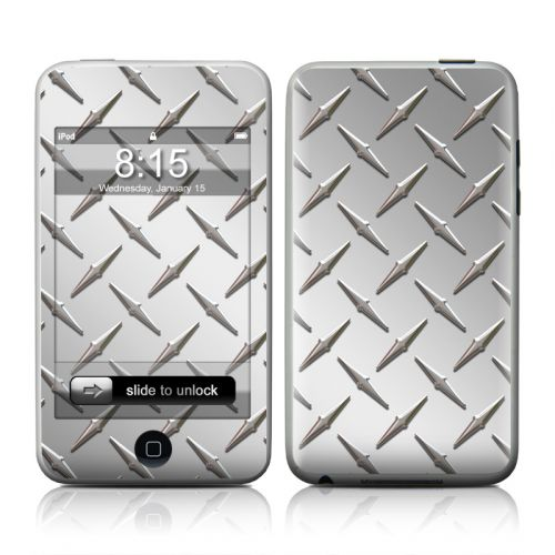 Diamond Plate iPod touch 2nd Gen or 3rd Gen Skin