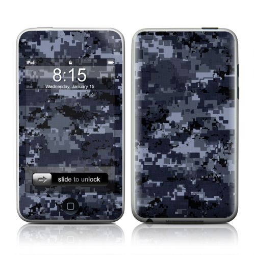 Digital Navy Camo iPod touch 2nd Gen or 3rd Gen Skin