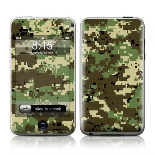 Digital Woodland Camo iPod touch 2nd Gen or 3rd Gen Skin