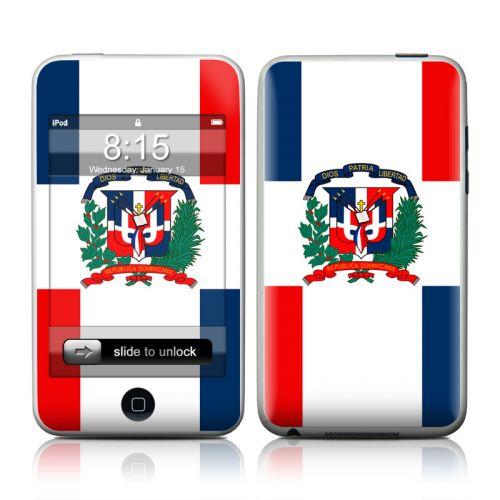 Dominican Republic Flag iPod touch 2nd Gen or 3rd Gen Skin