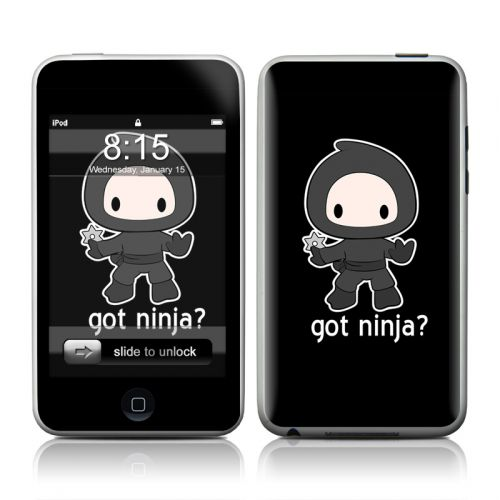 Got Ninja iPod touch 2nd Gen or 3rd Gen Skin