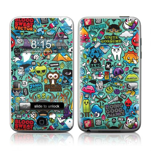 Jewel Thief iPod touch 2nd Gen or 3rd Gen Skin