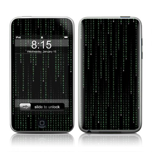 Matrix Style Code iPod touch 2nd Gen or 3rd Gen Skin