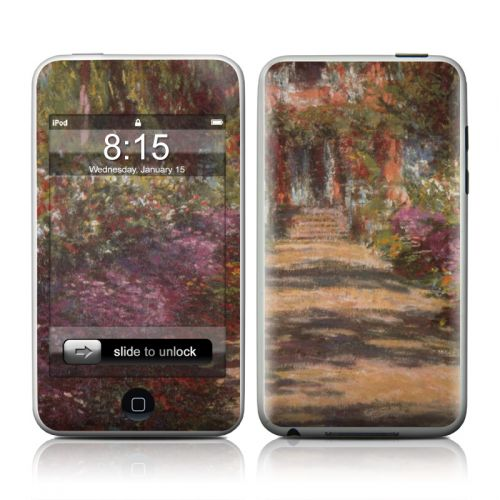 Monet - Garden at Giverny iPod touch 2nd Gen or 3rd Gen Skin