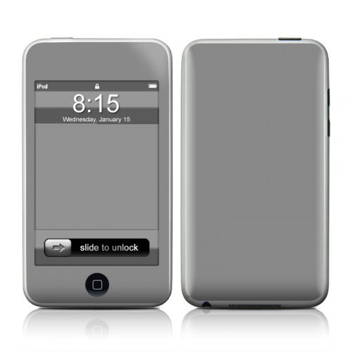 Solid State Gray iPod touch 2nd Gen or 3rd Gen Skin