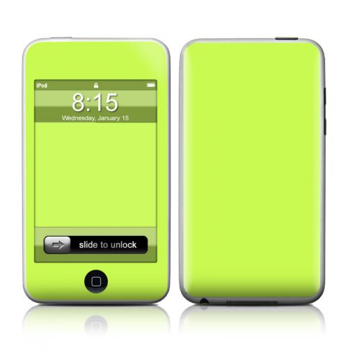 Solid State Lime iPod touch 2nd Gen or 3rd Gen Skin